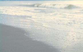 Обои волна, спокойствие, природа, берег, пляж, песок, море, волны, вода, небо