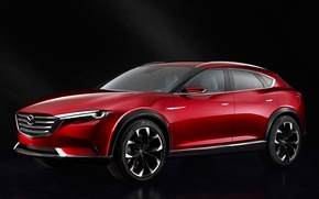 Обои Concept, концепт, Mazda, мазда, 2015, коеру, Koeru, кросховер