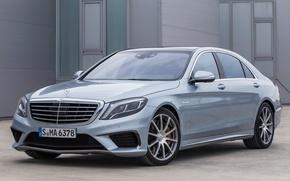 Картинка Mercedes-Benz, AMG, Germany, Sports, Turbo, Sedan, Luxury, 2014, V-8, 4MATIC, S63