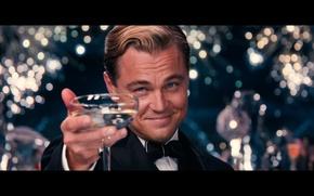 Картинка Movie, рюмка, Леонардо ДиКаприо, Leonardo DiCaprio, актер, The Great Gatsby, Великий Гэтсби
