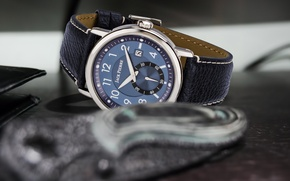 Картинка blue, leather, watch, Jack pierre