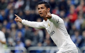 Картинка улыбка, футбол, медаль, Португалия, Cristiano Ronaldo, легенда, футболист, гол, football, CR7, игрок, champions league, Реал …