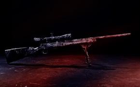 Обои снайперская, прицел, винтовка