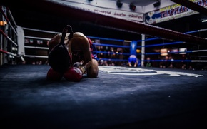 Картинка thailand, before fighting, boxing ring