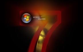 Обои windows, надпись, цифра, logo