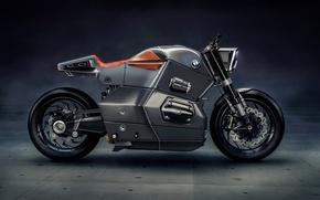 Обои BMW, beautiful, technology, motorbike, beauty, strong, Bmw Urban Racer, bold design, motorcycle, futuristic