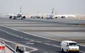Картинка Аэропорт, Boeing, 300, 777, Самолёт, Airbus, 800, A-380
