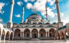 Картинка мечеть, россия, russia, грозный, стамбул, чечня, mosque, grozny, istambul