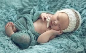 Картинка шапка, спокойствие, ребенок, сон, малыш, младенец