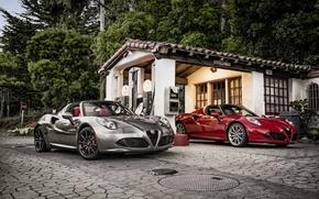 Обои Spider, 2015, 960, альфа ромео, US-spec, Alfa Romeo