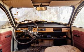 Обои сиденья, лобовое стекло, вид сзади, автомобиль, руль, окна