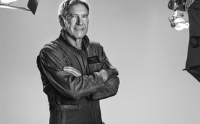 Картинка Harrison Ford, Харрисон Форд, The Expendables 3, Неудержимые 3, Max Drummer