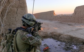 Обои Soldier, Afghanistan, Special Forces Patrol