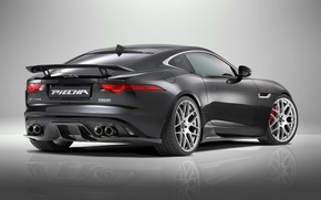 Обои F-Type R, 2015, Coupe, Jaguar, ягуар, Piecha Design, купе