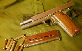 Картинка пистолет, патроны, полуавтоматический, Coonan, 357 Magnum