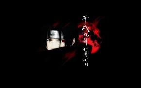 Картинка naruto, Itachi, dark. moon