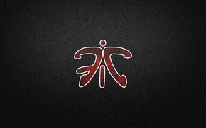 Картинка red, Halo, logo, black, counter-strike, pixels, League of Legends, csgo, dota 2, StarCraft, fnatic, dark …