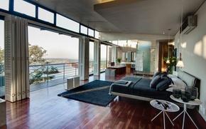 Обои дизайн, город, дом, стиль, интерьер, жилое пространство