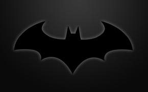 Картинка знак, темный, Бэтмен