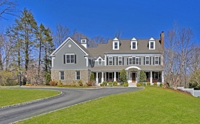 Картинка Connecticut, Wilton, United States Luxury, luxury cottage