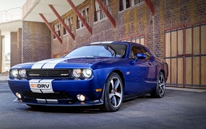 Картинка Dodge, Challenger, Blue, SRT