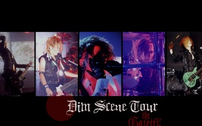Картинка Japan, guys, j-rock, The GazettE, Dim Scene Tour