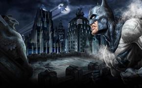 Обои Бэтмэн, Готхэм, Ночь