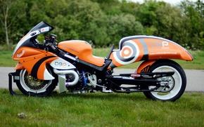 Картинка стиль, форма, дизайн, байк, Suzuki, мотоцикл, drag racing