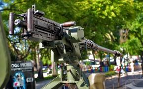 Картинка оружие, пулемёт, станковый, machine gun, Браунинг M2