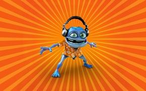 Картинка лягушка, сумасшедший, Crazy Frog, крейзи фрог