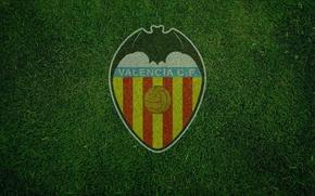 Картинка wallpaper, sport, logo, football, Valencia CF