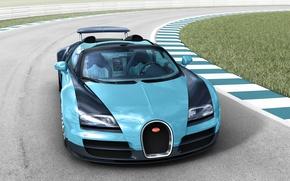 Обои bugatti veyron 16.4, grand sport, 2013, spider