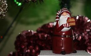 Обои настроение, Новый год, год, Дед мороз