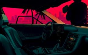 Картинка Car, Art, Hotline Miami, Dennaton Games