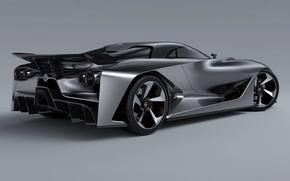 Картинка Concept, Turismo, Nissan, Vision, Gran, 2014, Rear