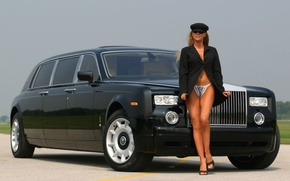Обои Аэропорт, Phantom, Rolse Royce, Водитель