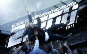 Картинка wallpaper, sport, football, Zinedine Zidane, Real Madrid CF, players, trainer, manager