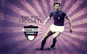 Картинка Италия, Милан, Джачинто Факкетти, фланговый защитник, Giacinto Facchetti