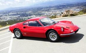 Картинка 1971, Ferrari, феррари, дино, Pininfarina, Dino, 246 GT, Series E