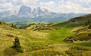 Картинка лето, горы, Доломитовые Альпы