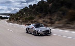 Картинка car, авто, Concept, Audi, ауди, road, speed, TT, Clubsport Turbo