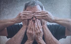Картинка человек, руки, цензура