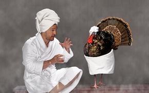 Картинка белый, ситуация, полотенце, сауна, юмор, фотограф, пар, актер, разговор, баня, халат, фотосессия, жесты, Matthew McConaughey, …