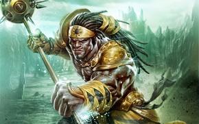 Картинка воин, RPG, Deep Silver, Keen Games, Sacred 3