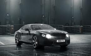 Картинка car, машина, вода, свет, light, water, 2012 Bentley Continental GT V8, 2156x1616