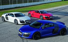 Картинка Audi R8, Spyder, Суперкар, Автомобили, V10, Audi R8 V10, V10 Coupé
