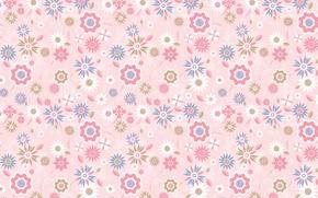 Картинка цветы, фон, текстура, арт