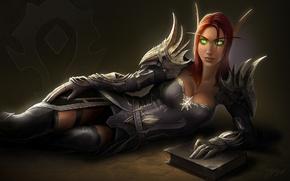 Картинка WOW, орда, эльфийка крови