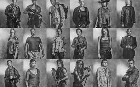 Картинка сериал, герои, The Walking Dead, Ходячие мертвецы