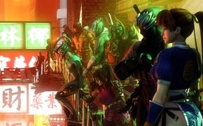 Картинка scorpion, mortal kombat, Sub-Zero, raiden, Metal Gear Rising: Revengeance, tekken, Ryu Hayabusa, gray fox, yoshimitsu, …